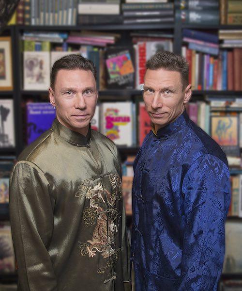 Ilkka and Harri Virolainen twin brothers authors on Nordic Wisdom